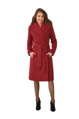 Palton accesorizat cu dantelă
